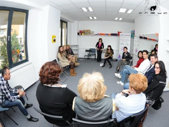 "Primul workshop din seria ""Slabeste sanatos"", sustinut de Mamica Urbana si Medas"