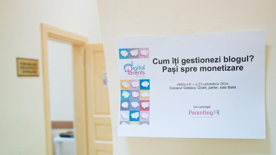 Digital Parents Talks, ediția a II-a. Monetizarea blogului în România